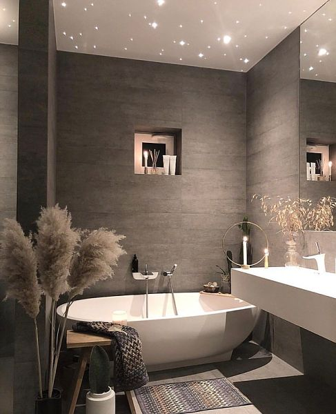 grey bathroom tiles