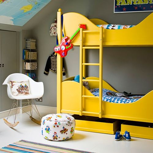 boy and girl shared room ideas bunk bed