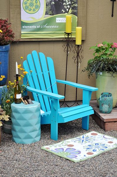 Outdoor furniture and decor