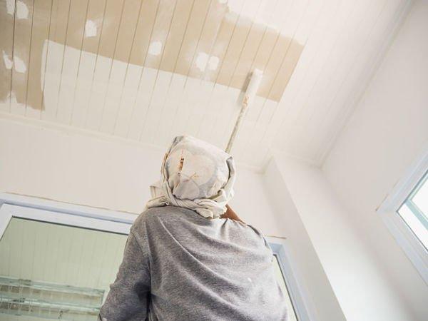 paint ceiling