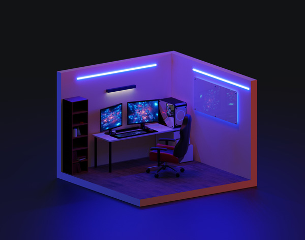 Gaming Room Setup Great Ideas For A Cool Gaming Zone