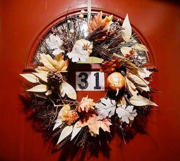 fall wreath for front door