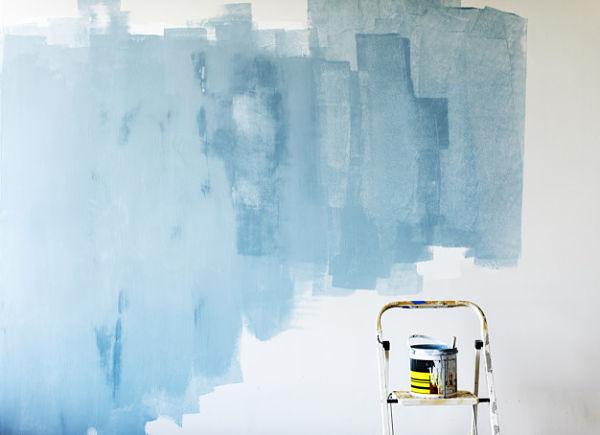 uneven paint coverage