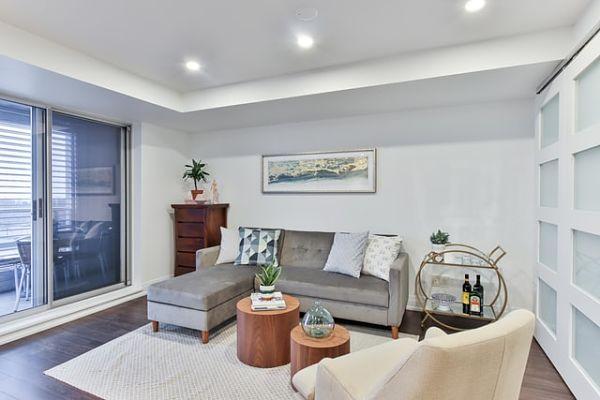 recessed lighting living room cost