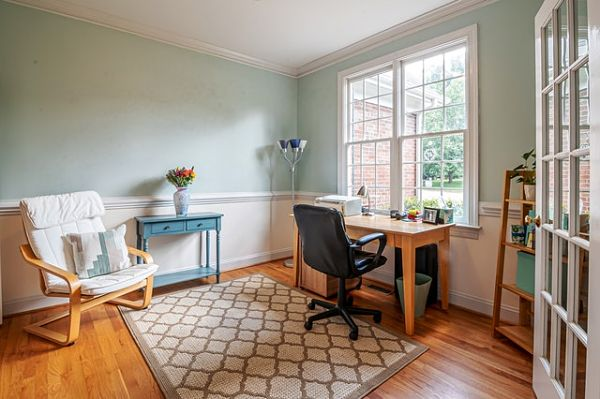 formal dining room to office