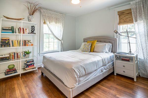 formal dining room to bedroom