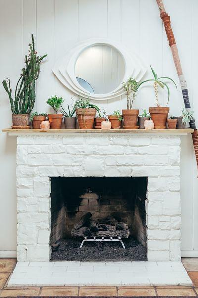 gas wood fireplace