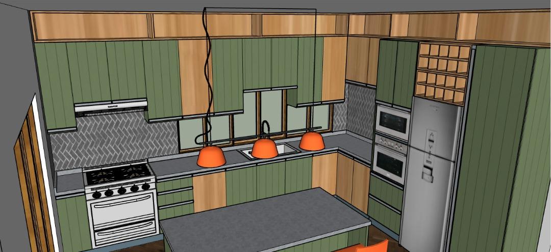 L-shaped kitchen ideas