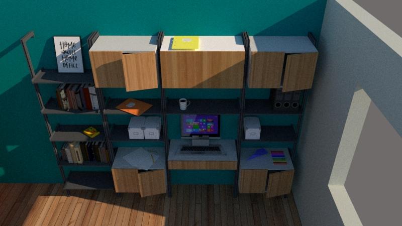 Home office desktop ideas