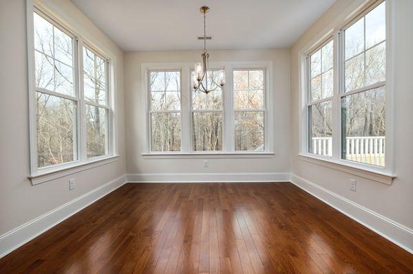 sunroom hardwood flooring