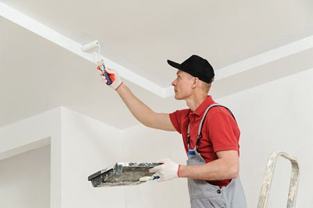 ceiling crack repair