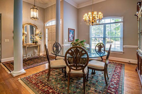 dining room entryway