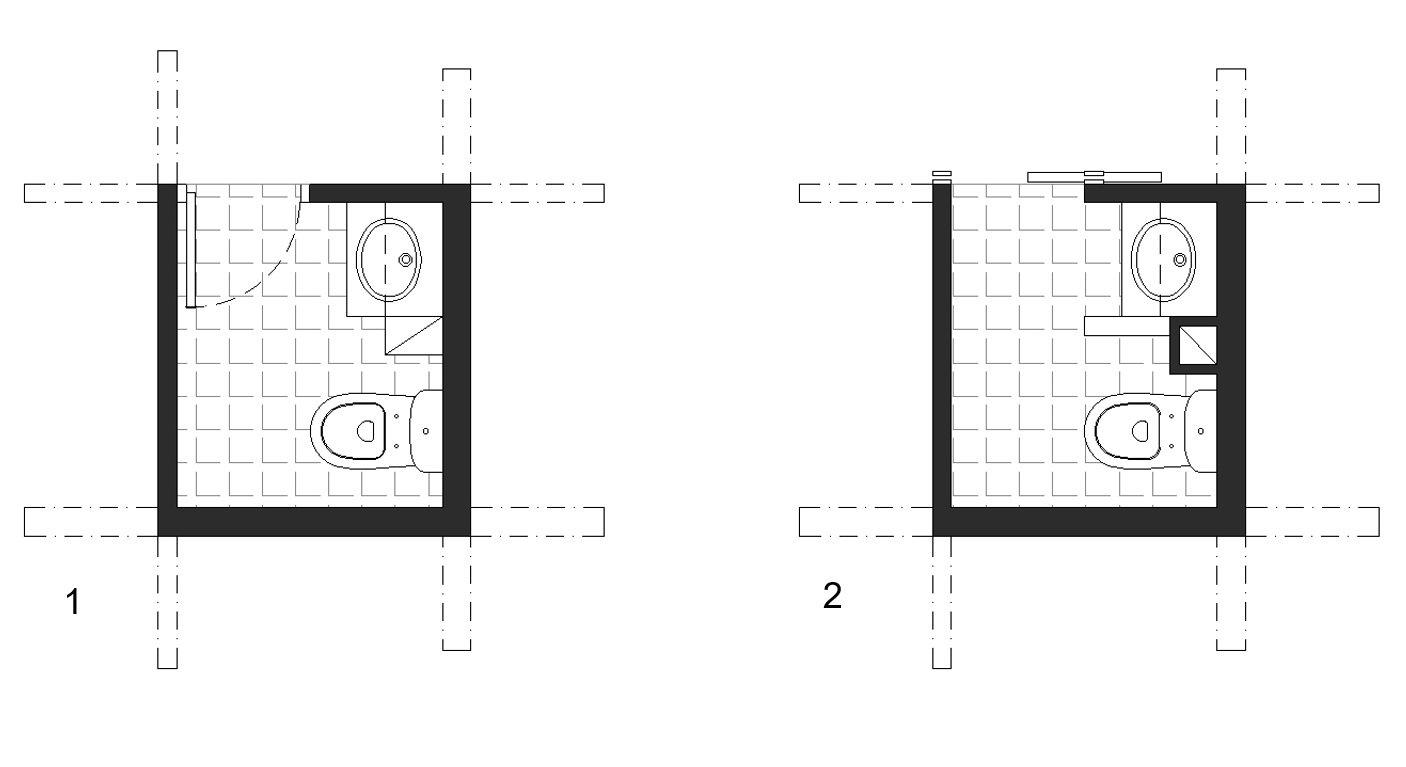 powder room variations