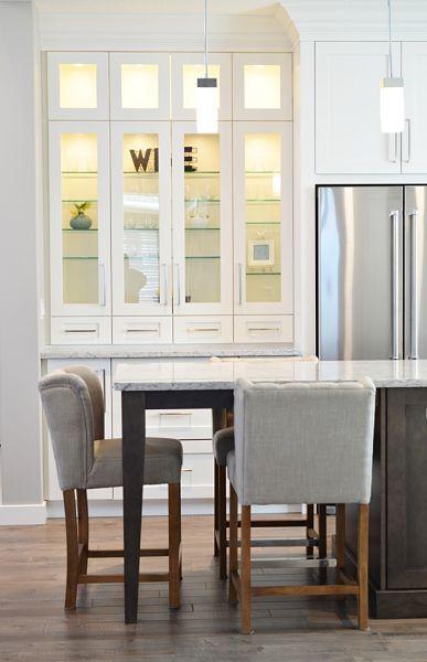 kitchen cabinet glass shelves