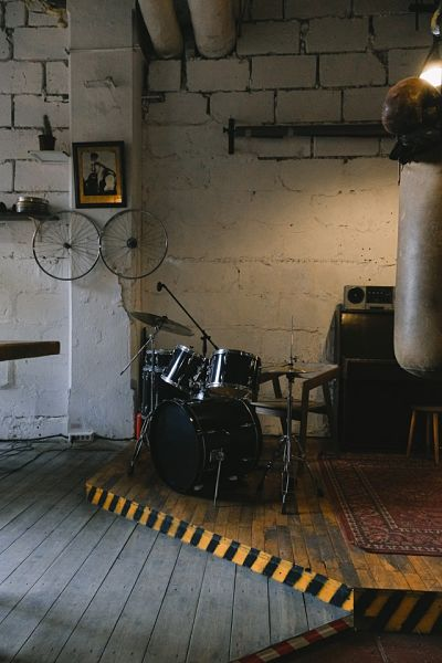 music room stage