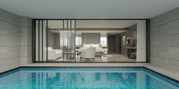 indoor pool cost