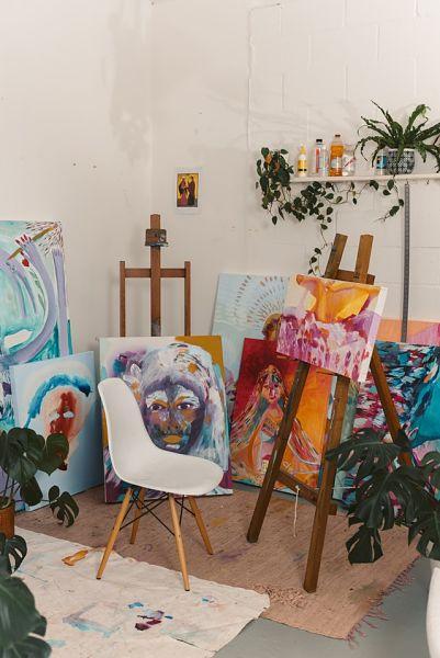 art room paint colors