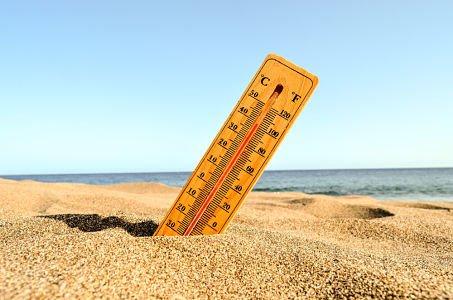 heat wave temperature