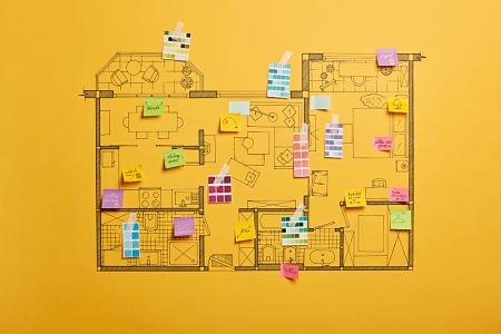new house interior design plan