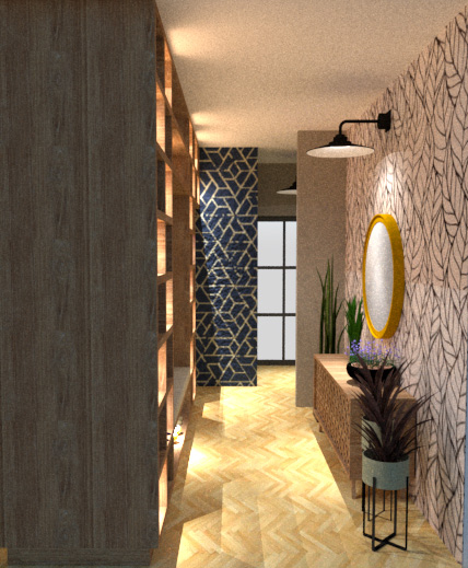 foyer with view to hallway