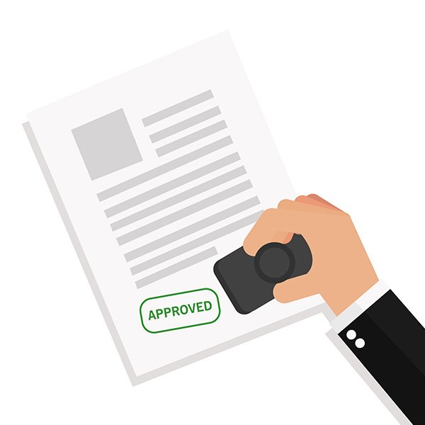 get administrative approval