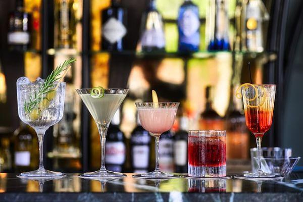 home bar glassware