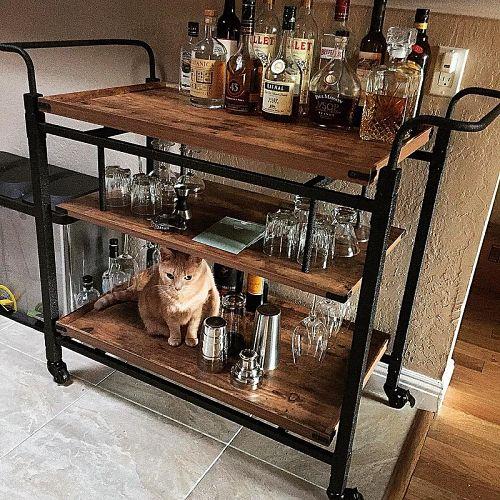 home bar cart