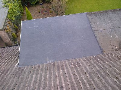 rubber roof types