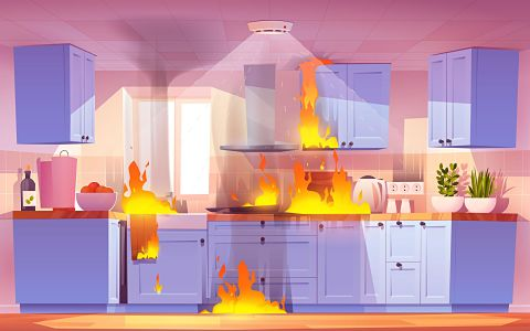 common cause of house fire