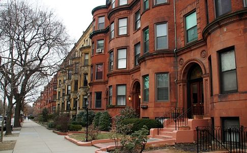 row house boston