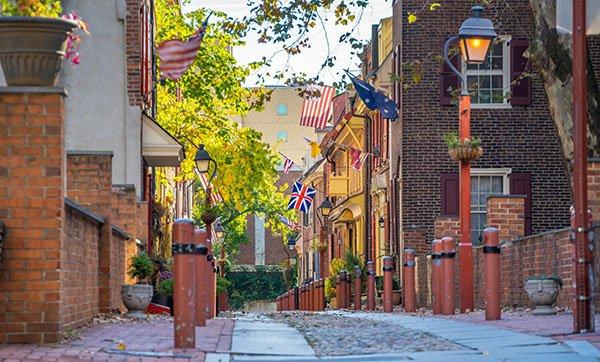 historic neighborhood in philadelphia