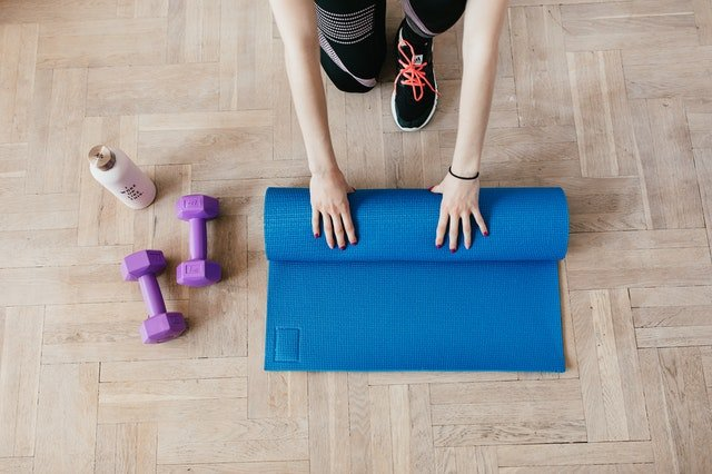 home gym space fall trend